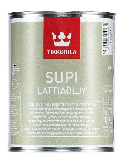 SUPI LATTIAÖLJY 0,9L EC SÄVYTETTÄVISSÄ