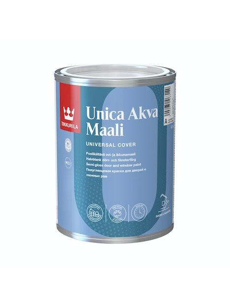 UNICA AKVA OVI- JA IKKUNAMAALI 0,9L C SÄVYTETTÄVÄ