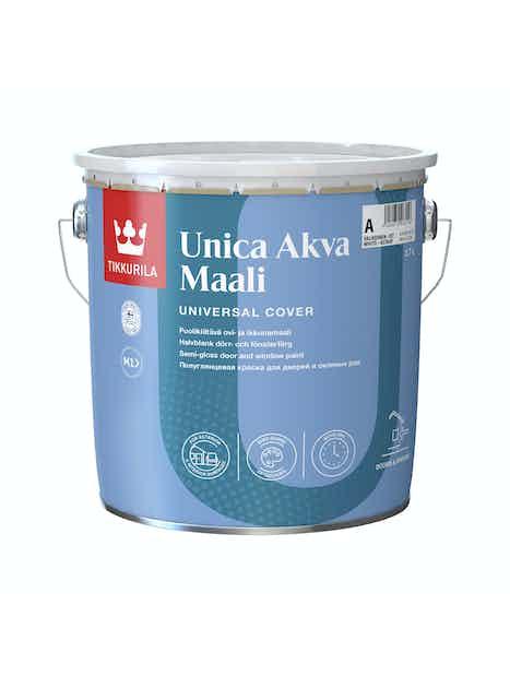 UNICA AKVA OVI- JA IKKUNAMAALI 2,7L C SÄVYTETTÄVÄ