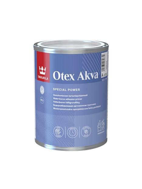 OTEX AKVA A-PERUSMAALI 0,9L TARTUNTAPOHJAMAALI