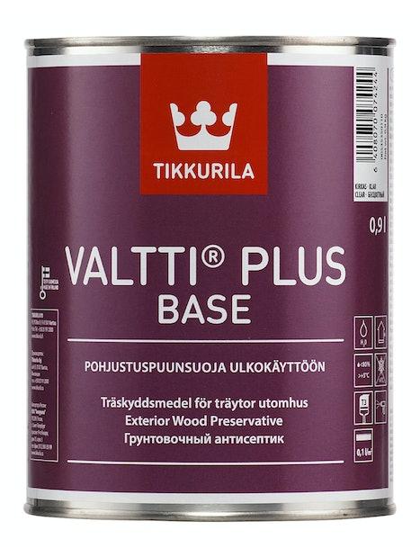VALTTI PLUS BASE PUUNSUOJAPOHJUSTE 0,9L SINERTÄVÄ