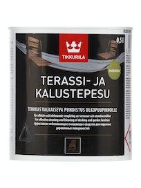 TERASSI- JA KALUSTEPESU PUHDISTUSAINE 0,5L