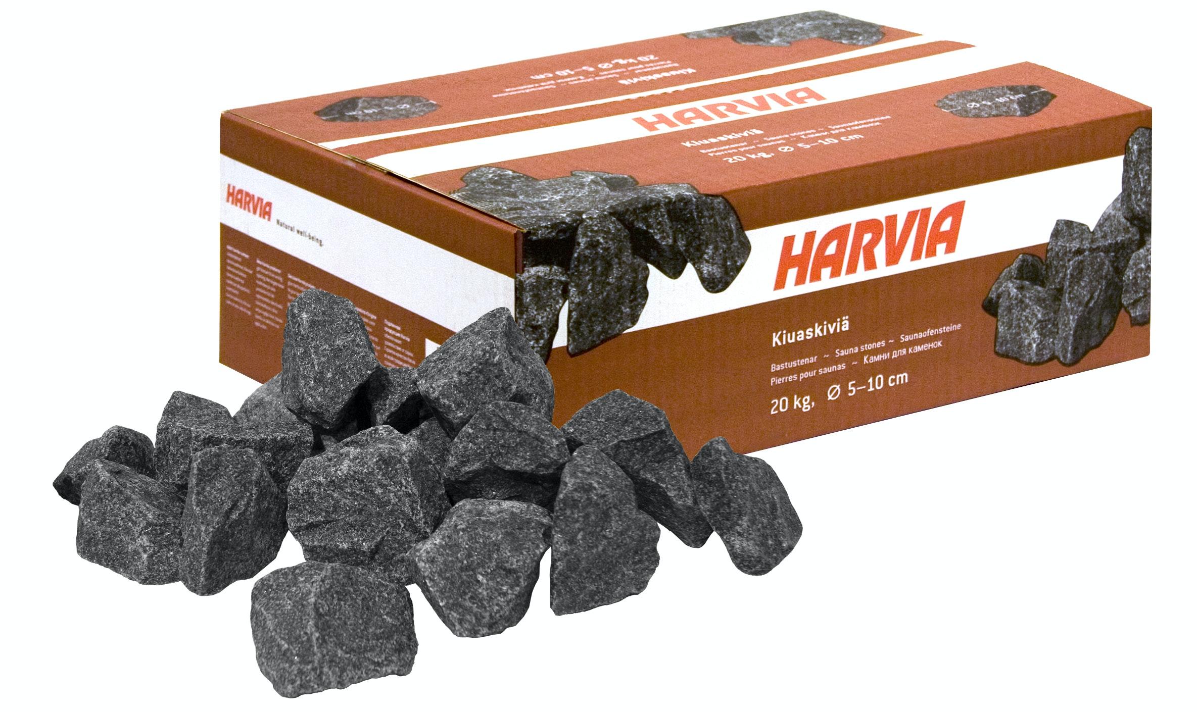 Bastusten Harvia Ø 5-10cm AC3000 20kg