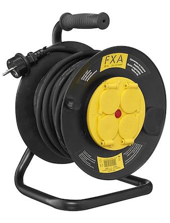 Fxa Kabelrulle 20m IP44 3x1,5mm 2 Gummi