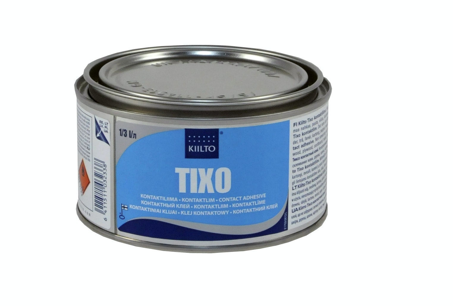 Kontaktlim Kiilto Tixo 0,3 liter