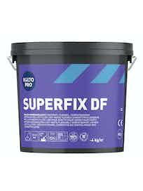 Клей для плитки Kiilto SuperFix DF, белый, 4 кг