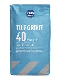 SAUMALAASTI KIILTO 40 20KG HARMAA
