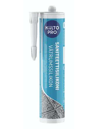 Санитарный силикон Kiilto №00 бесцветный 0,33 л