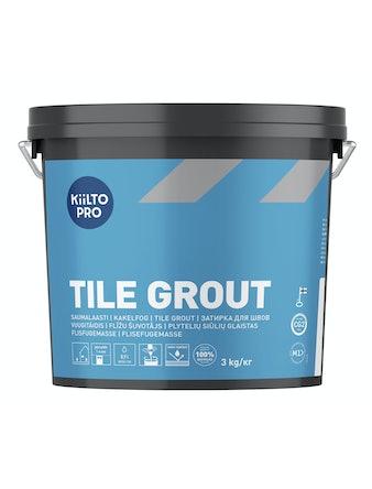Kakelfog Kiilto 50 svart 3 kg