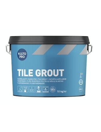 Kakelfog Kiilto 50 svart 10 kg