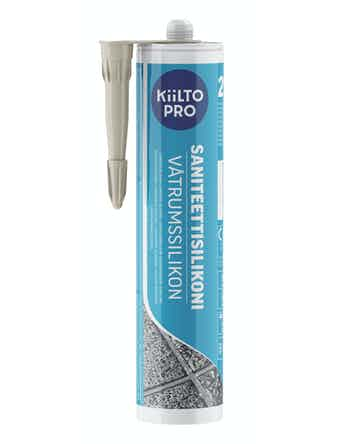 Санитарный силикон Kiilto №29 светло-бежевый 0,33 л