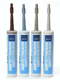 Санитарный силикон Kiilto синий пастельный №79 0,33 л