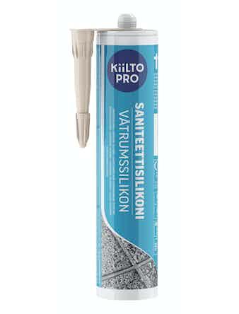 Санитарный силикон Kiilto №11 природный белый 0,33 л