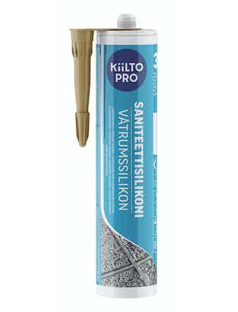 Санитарный силикон Kiilto №30 бежевый 0,33 л
