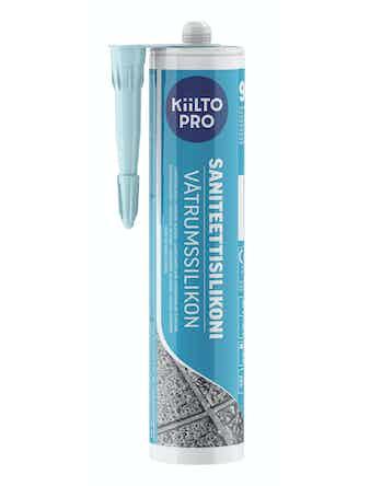 Санитарный силикон Kiilto №90 синий ледяной 0,33 л