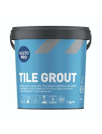 Kakelfog Kiilto 44 mörkgrå 1 kg