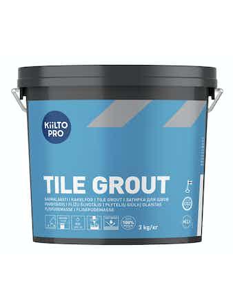 Kakelfog Kiilto 44 mörkgrå 3 kg