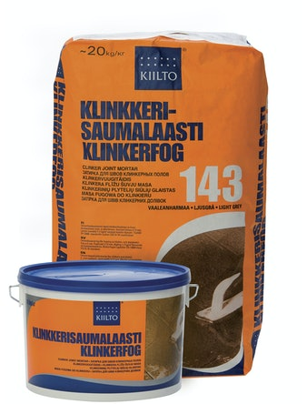 Klinkerfog Kiilto ljusgrå 143 20 kg