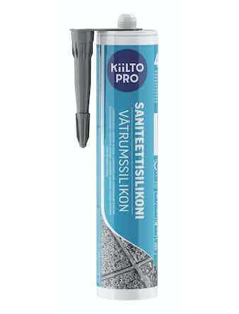 Silikon Kiilto 44 mörkgrå 310 ml