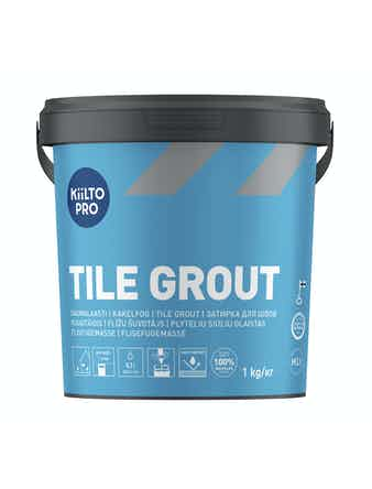 Kakelfog Kiilto 48 kolgrå 1 kg