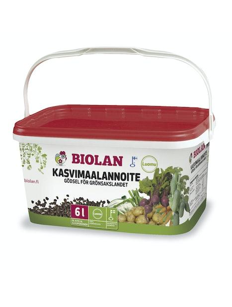 LUONNONLANNOITE BIOLAN KASVIMAALLE 6L