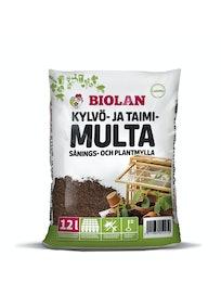 KYLVÖ- JA TAIMIMULTA BIOLAN 12L