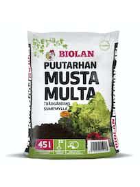 PUUTARHAN MUSTA MULTA BIOLAN 45L