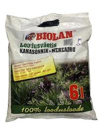 Удобрение природное Biolan, 6 л