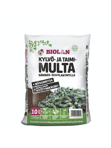 KYLVÖ- JA TAIMIMULTA BIOLAN 10L