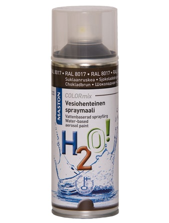Sprayfärg Asm V-Bas C-Brun 400ml Brandsäker