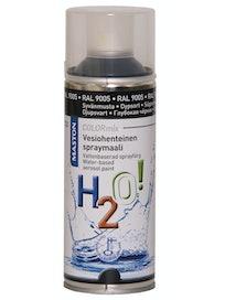 SPRAYMAALI H2O RAL9005 MUSTA 400ML