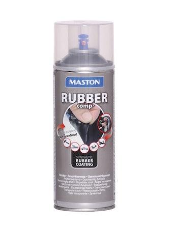 Rubbercomp Spray smoke halvblank 400 ml