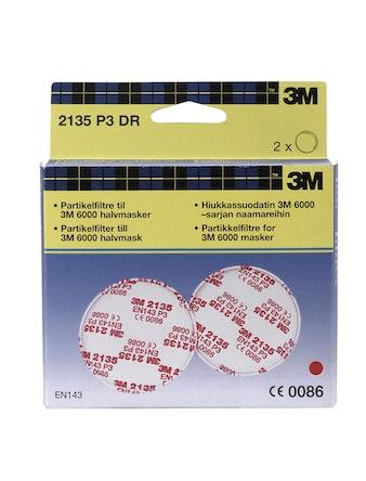 Filter 3M P3 2135D Till maskstomme 6000 serien