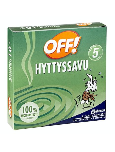 HYTTYSSAVU OFF! 10 KPL