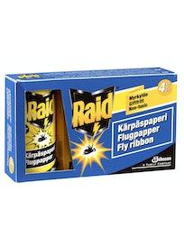 KÄRPÄSPAPERI RAID 4 KPL