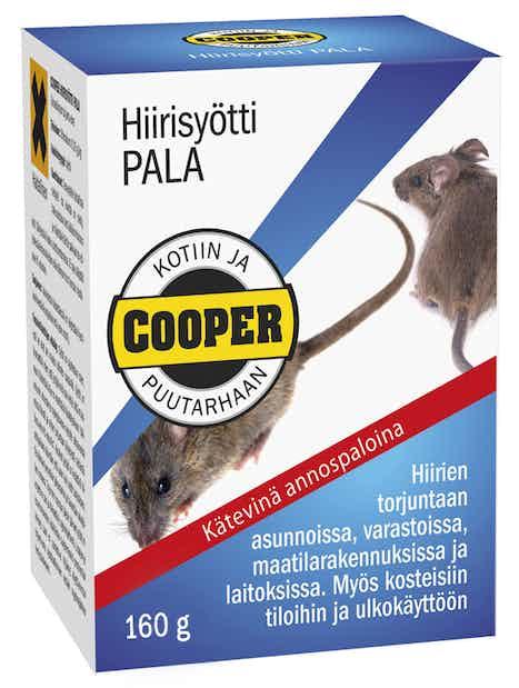 HIIRISYÖTTI COOPER PALA 160 BERNER