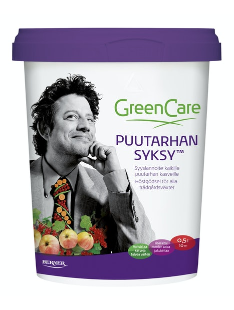 LANNOITE PUUTARHAN SYKSY GREENCARE 0,5L