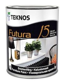 FUTURA 15 KALUSTEMAALI 0,9L PUOLIHIMMEÄ PM1 VALKOINEN SÄVYTETTÄVISSÄ