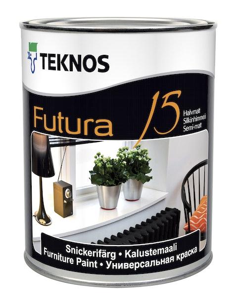 FUTURA 15 KALUSTEMAALI 0,9L PUOLIHIMMEÄ PM3 SÄVYTETTÄVÄ