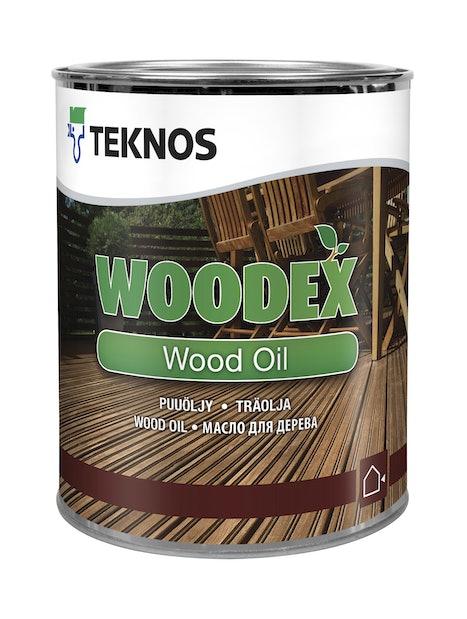 WOODEX WOOD OIL PUUÖLJY 0,9L RUSKEA