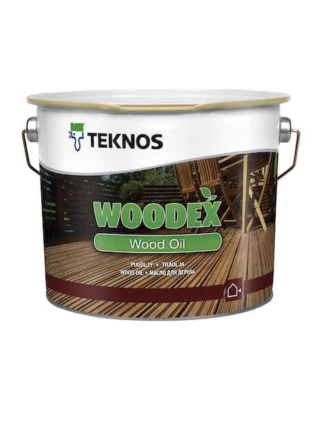 WOODEX WOOD OIL PUUÖLJY 2,7 L RUSKEA