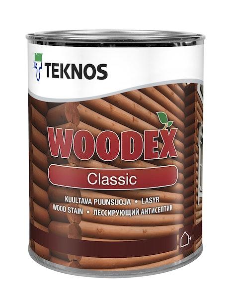 WOODEX CLASSIC KUULLOTE 0,9L PM3 SÄVYTETTÄVISSÄ