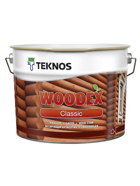 WOODEX CLASSIC KUULLOTE 9L PM3 SÄVYTETTÄVISSÄ