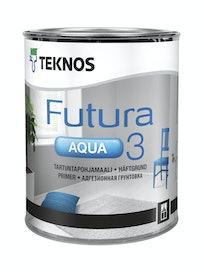 FUTURA AQUA 3 TARTUNTAPOHJAMAALI 0,9L PM1 VALKOINEN SÄVYTETTÄVISSÄ