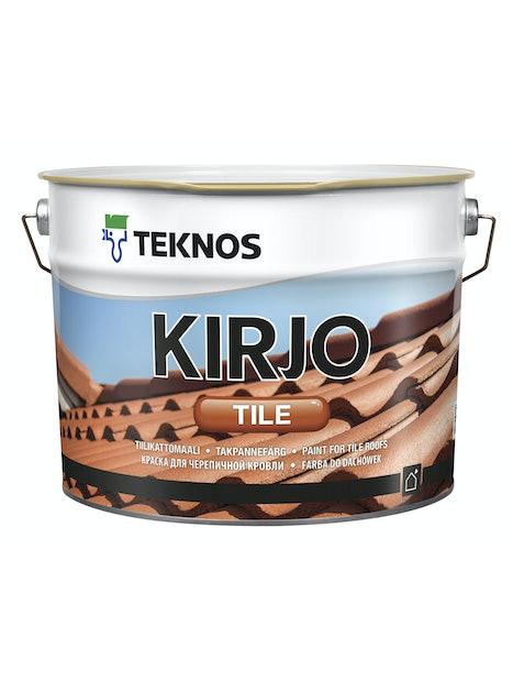 KIRJO TILE TIILIKATTOMAALI T2515 MUSTA 10L