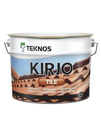 KIRJO TILE TIILIKATTOMAALI T2510 TIILENPUNAINEN 10L