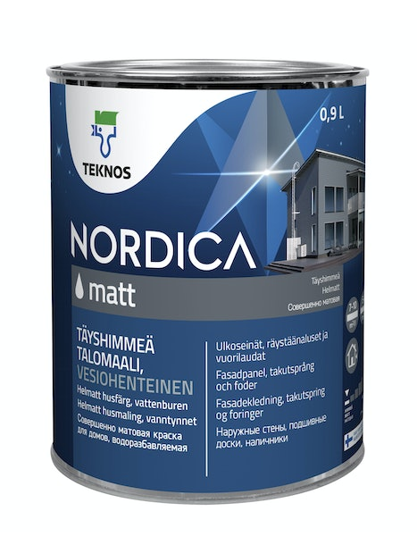 NORDICA MATT TALOMAALI 0,9L PM1
