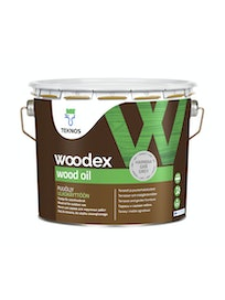 WOODEX WOOD OIL HARMAA PUUÖLJY 2,7L