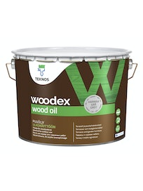 WOODEX WOOD OIL HARMAA PUUÖLJY 9L