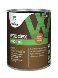 WOODEX WOOD OIL RUSKEA PUUÖLJY 0,9L